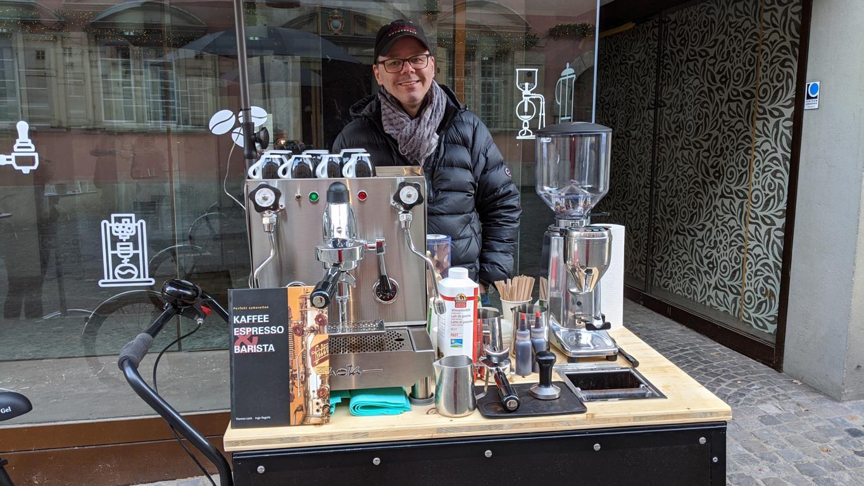 Kaffeekünstler Barista
